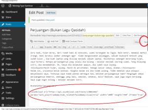 Edit Post ‹ Wening Tyas Suminar — WordPress
