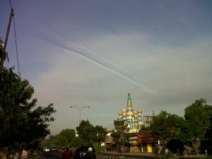 line. Yogyakarta.  June, 2012