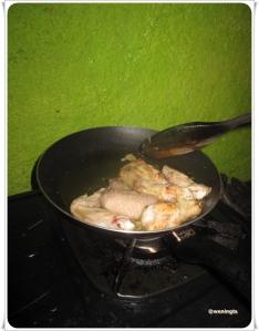 Ayam Panggang Saos Tiram