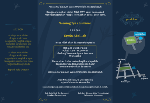 Our Wedding Invitation - weningts