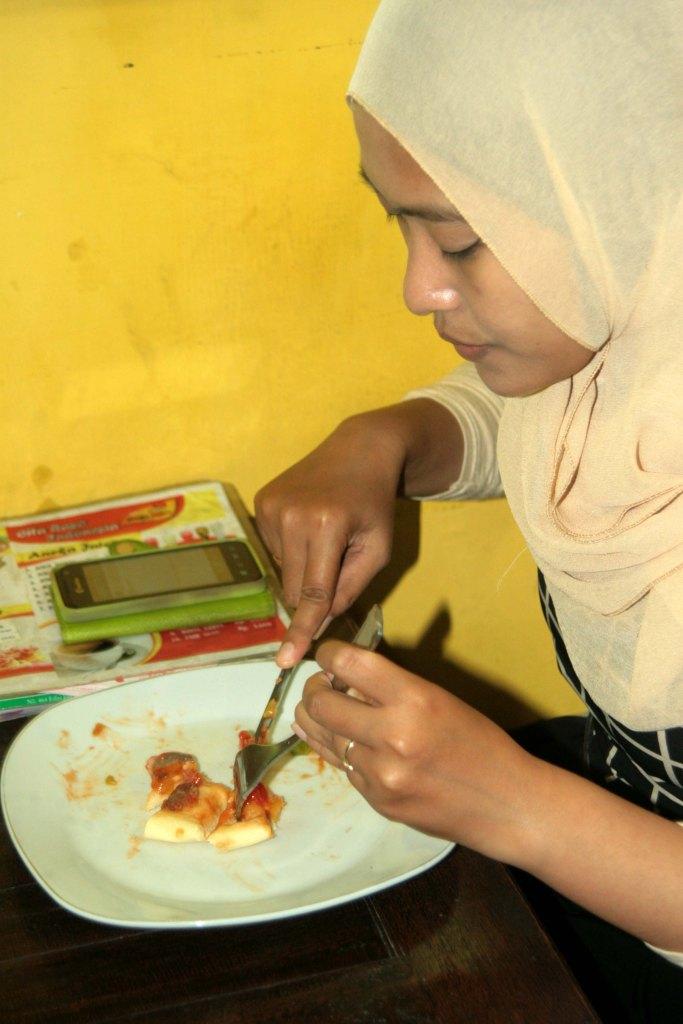Yang ini, pizza toping spesial :)