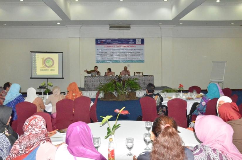Forum seminar Sosialisasi Konvensi Internasional